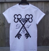 Image of Cross Keys T-Shirt (White) -UNISEX