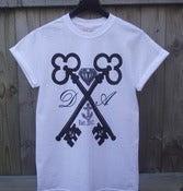 Image of Cross Keys T-Shirt (White) -UNISEX