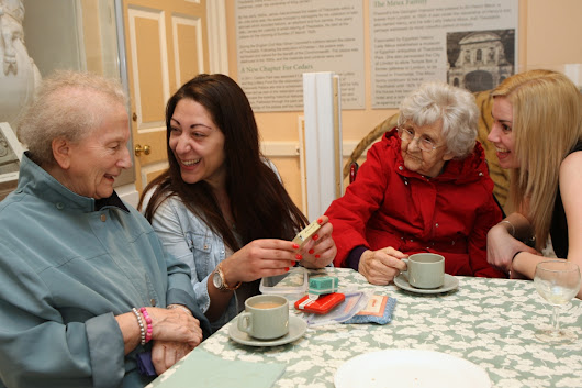Working Together: Museums and Care Homes recalling memories with residents in the local community