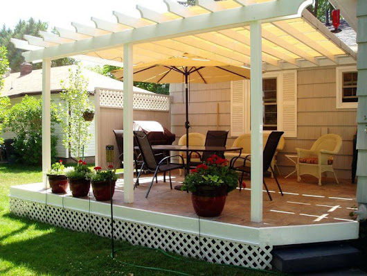 What to Consider While Designing Pergola Cover