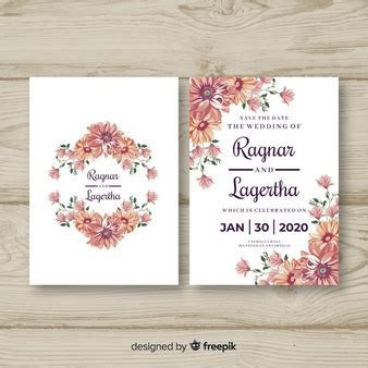 Wedding Invitation Vectors, Photos and PSD files   Free