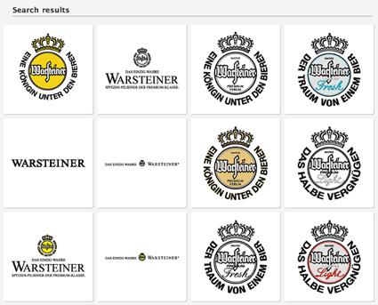 Warsteiner search results