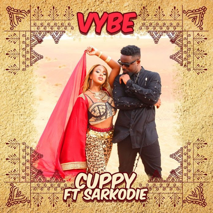 """DJ Cuppy - """"Vybe"""" ft. Sarkodie"""