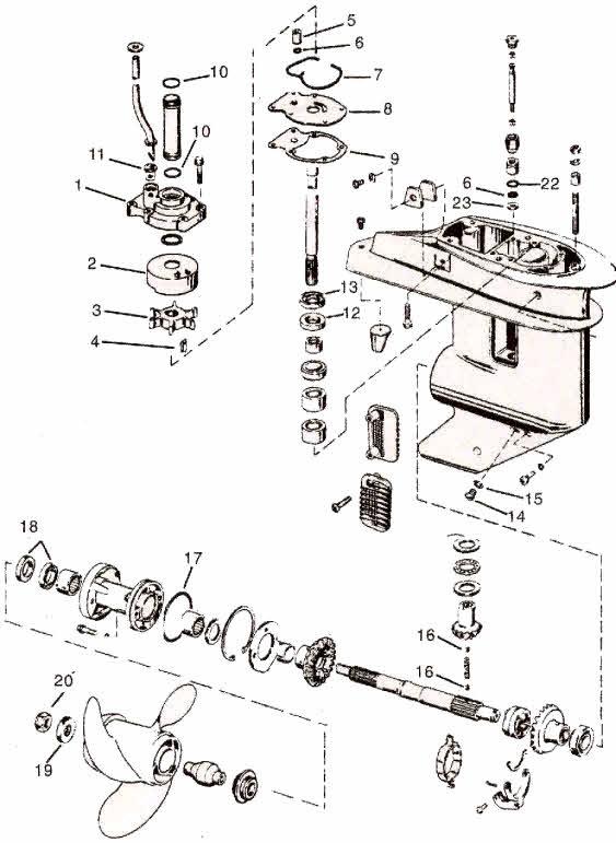 25 Horse Johnson Motor Diagram Full Hd Version Motor Diagram Roca Jaimemaregion Fr