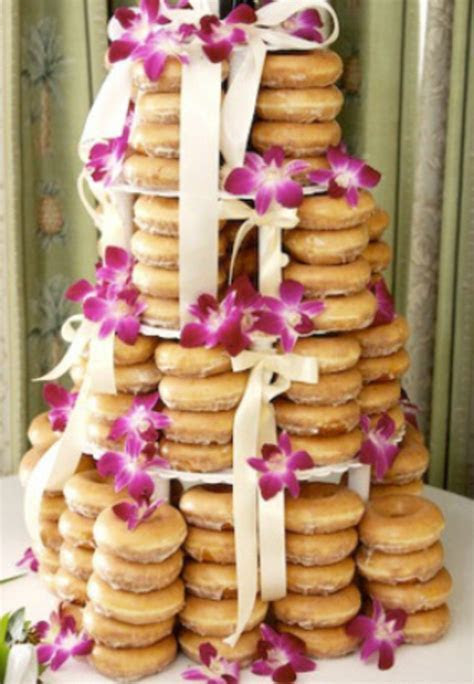 1000  ideas about Donut Cakes on Pinterest   Donuts