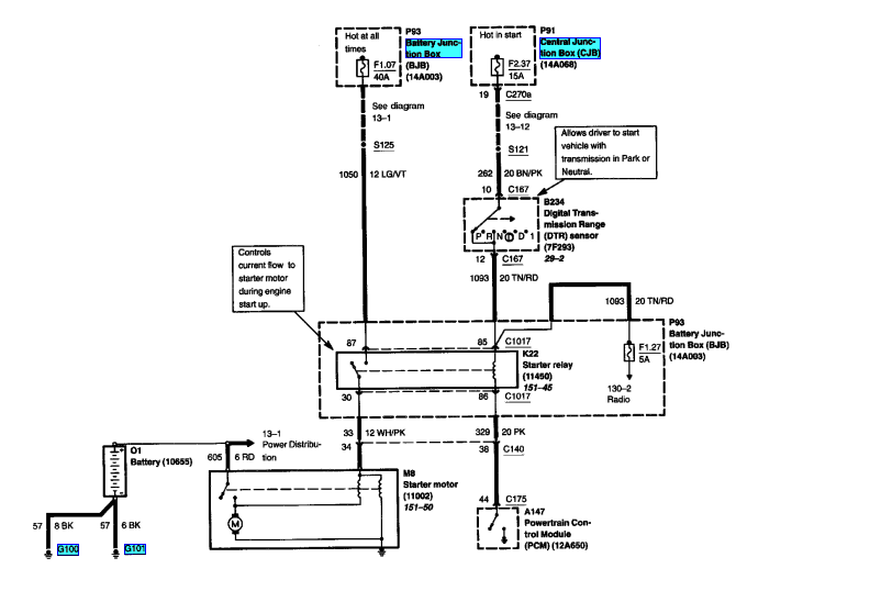 02 Ford Taurus Ses Starter Relay Wiring Diagram Wiring Diagram User User Emilia Fise It