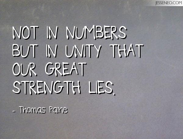 Quotes About Strength In Number 43 Quotes