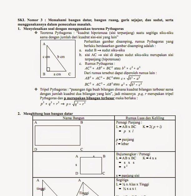 Soal Dan Jawaban Matematika Kelas 7 Semester 2
