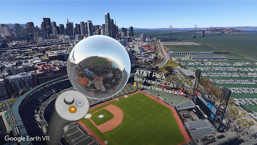 Get a closer look with Street View in Google Earth VR