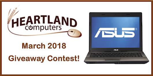 ENTER TO WIN THIS LAPTOP!*