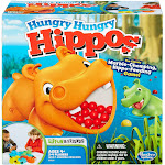 Hasbro 2001212 Elefun & Friends Hungry Hungry Hippos Game
