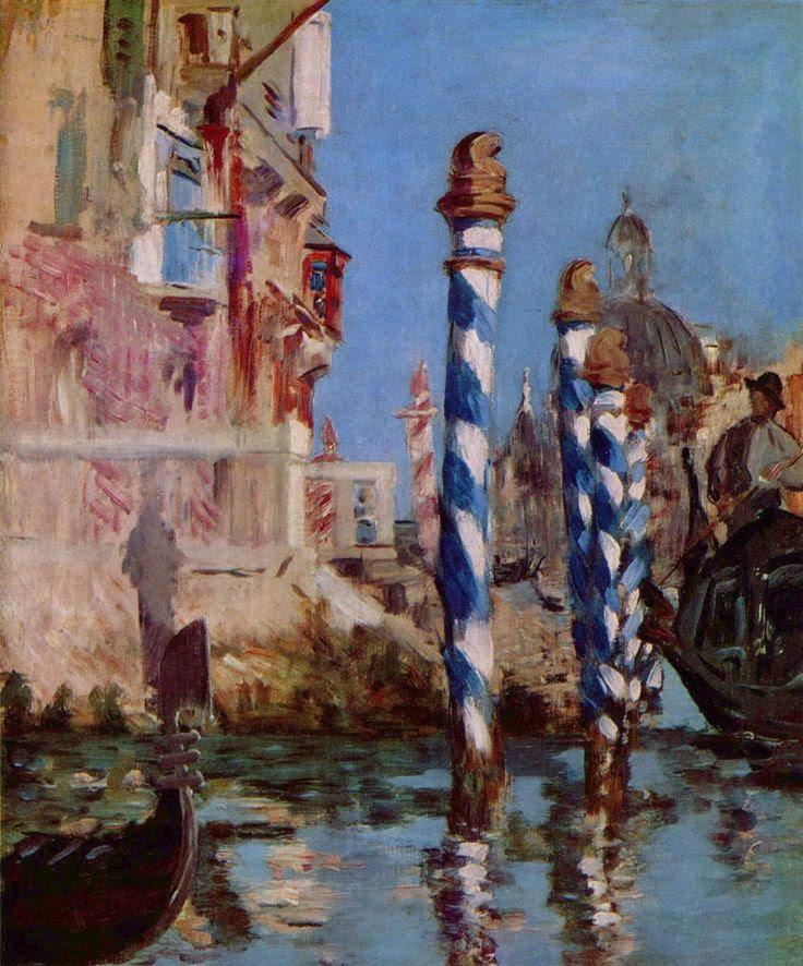 Edouard Manet - El Gran Canal de Venecia