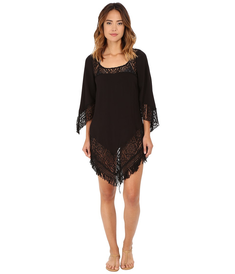 BECCA by Rebecca Virtue - Amore Tunic Cover-Up (Black) Women's Swimwear