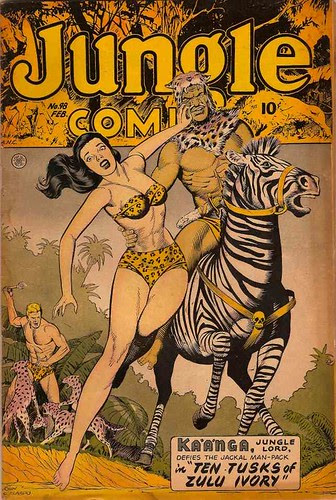 jungle comics 98 1948