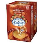 International Delights Hazelnut Creamers - 192 count, 84 oz box
