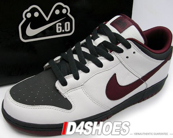 Nike Dunk Low 6.0 - New Redwood/Anthracite