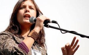 Camila Vallejos, líder del movimiento estudiantil chileno y latinoamericano