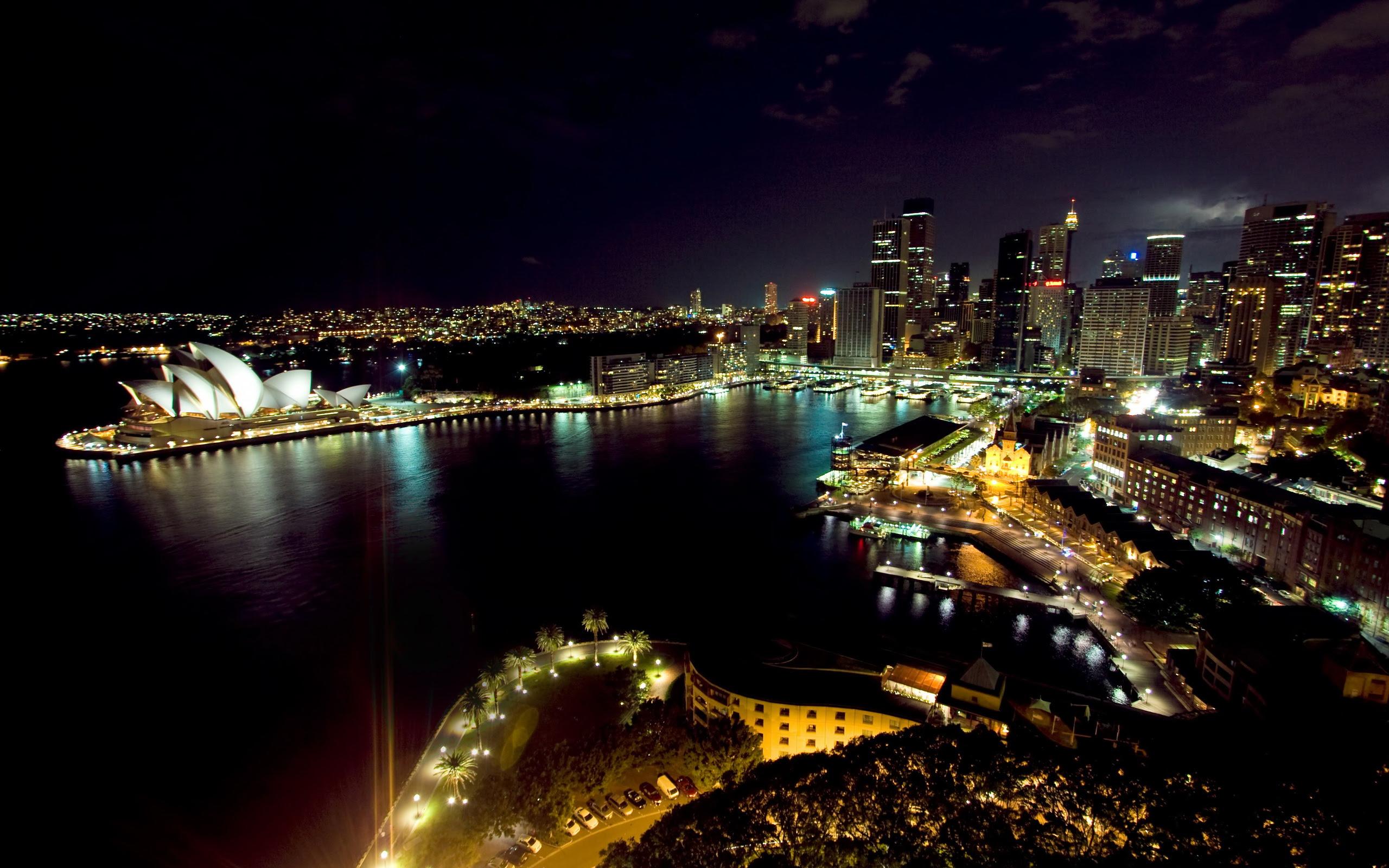 Sydney Australia | Celebrating Earth Hour [2560 X 1600]