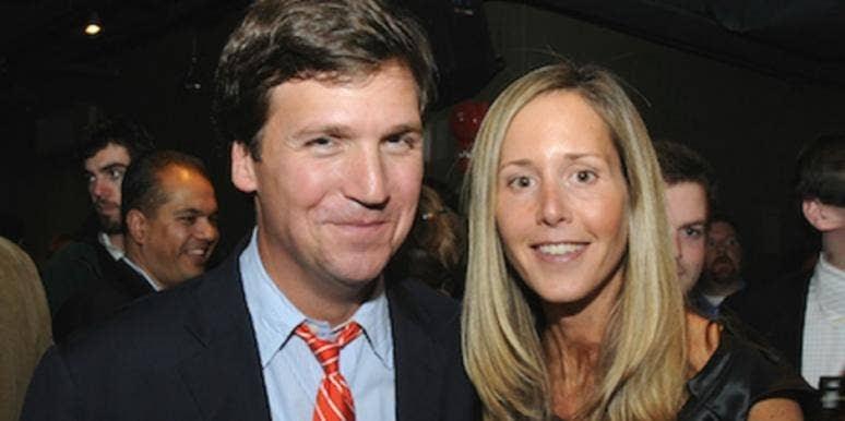 Tucker Carlson Wife Picture - PictureMeta
