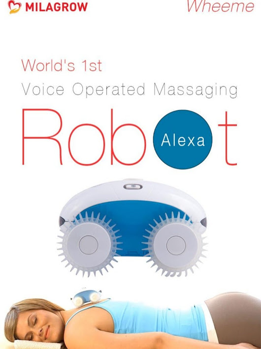 Milagrow Wheeme IoT Alexa - World's 1st Voice Operated Body Massaging…