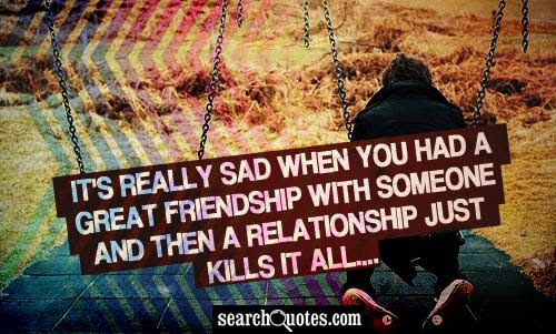 Sad Friendship Quotes Quotes About Sad Friendship Sayings About