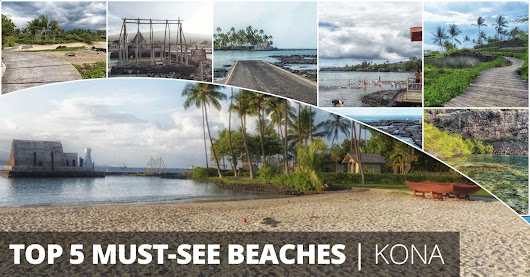 Top 5 Must-See Kona Beaches | Big Island Activities