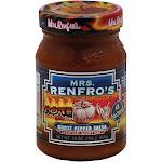 Mrs Renfros Salsa, Ghost Pepper, Hot - 16 oz