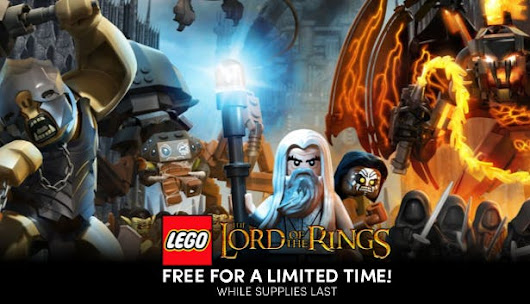 Get LEGO® The Lord of the Rings for free