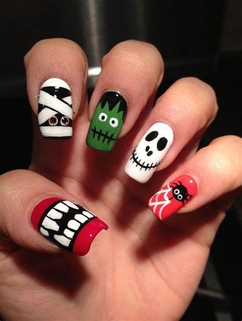 halloween nail art design 18   Easyday