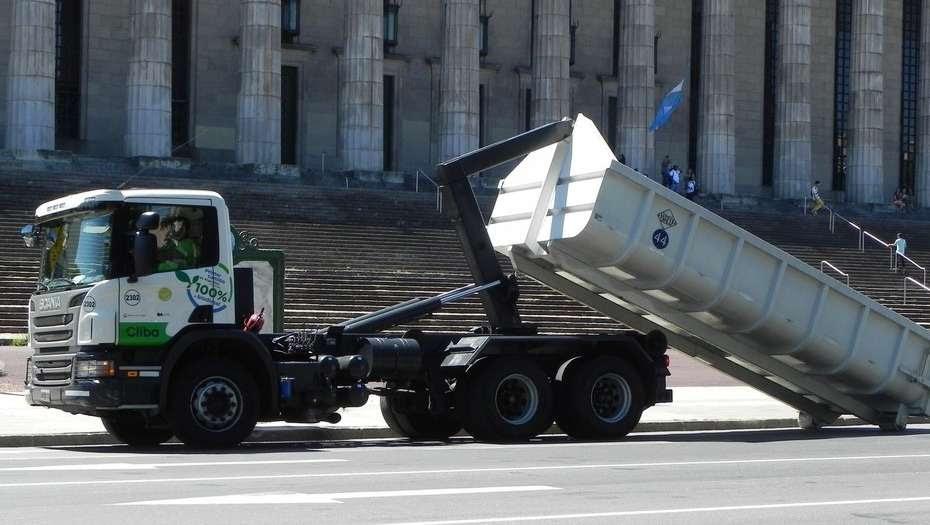 Buenos Aires ya tiene su primer camión de recolección de basura ecológico