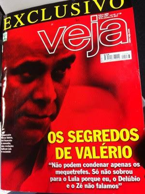 Marcos Valério - Capa revista Veja (Foto: Reprodução)