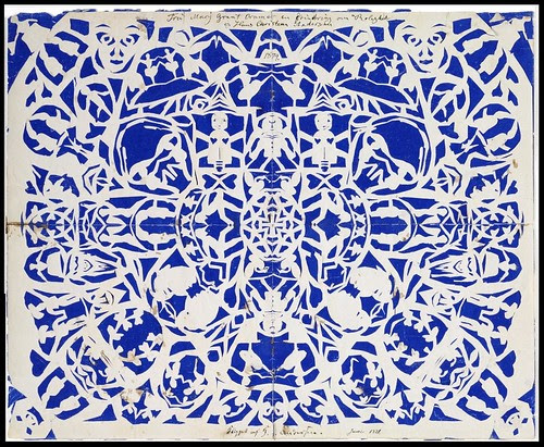 HC Andersen papercut (Christies)