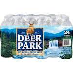 Deer Park Natural Spring Water - 24 pack, 16.9 fl oz bottles