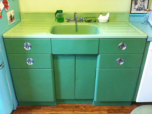 Vintage Kitchen Sink Unit