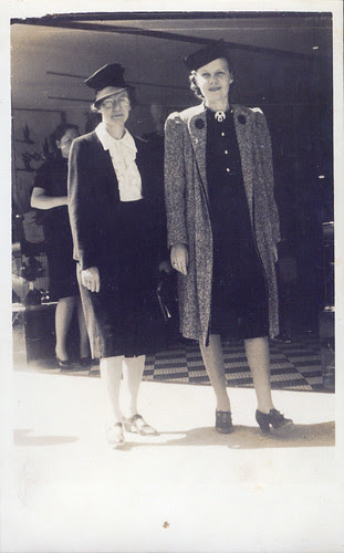 Two Women on the street