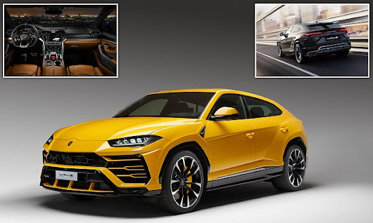 Lamborghini reveals its Urus supercar SUV | Daily Mail Online