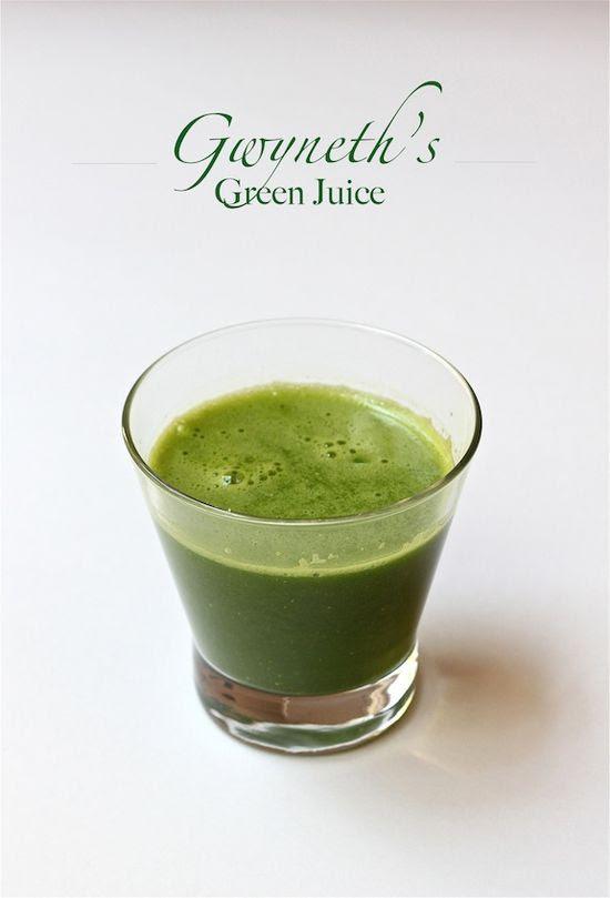 kale, green apple, lemon & a little ginger | Gwyneth's Green Juice