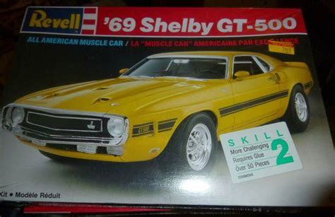 revell  ford mustang gt  shelby  model car
