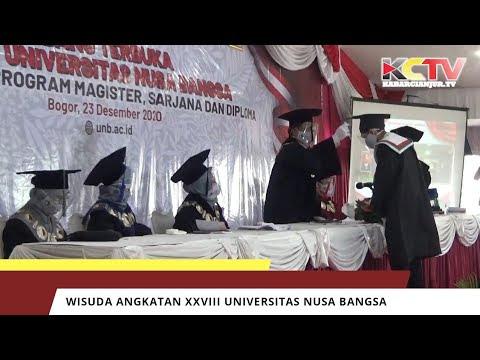 Wisuda Angkatan XXVIII Universitas Nusa Bangsa