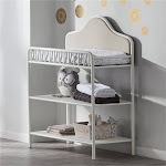 Piper Metal Changing Table, Cream