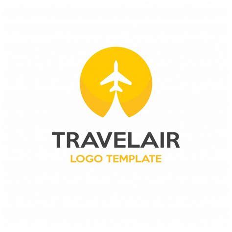 travel logo design vector premium