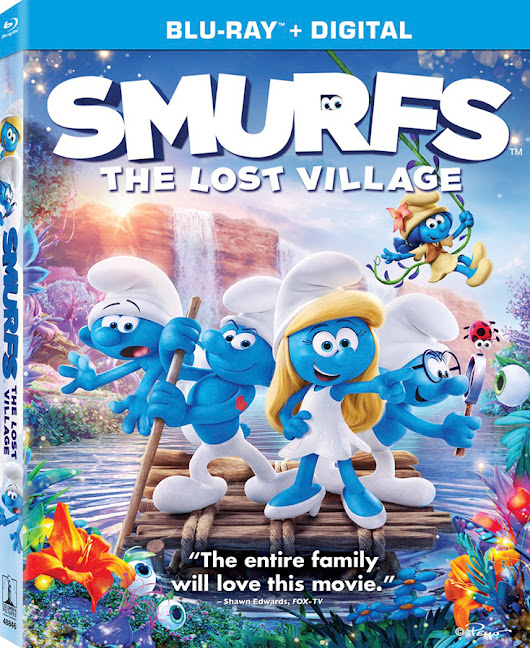 Smurfs: The Lost Village On DVD/Blu-Ray/Digital + Smurfy Fun Pack Giveaway