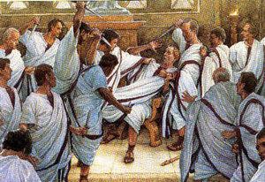 Meurtre de César au Sénat