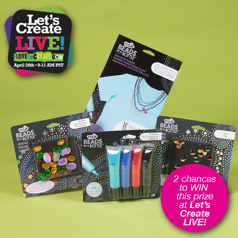 Tulip® Beads in a Bottle® Prize for Let's Create LIVE!