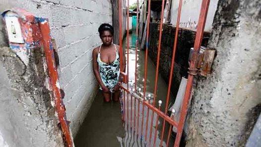 Las inundaciones dejaron al menos 13 muertos y miles de damnificados en las 57 ciudades paulistas. (AP)
