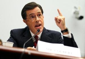 Stephen Colbert draws attention to self, then farmworkers during Hill appearance | The Upshot Yahoo! News - Yahoo! News