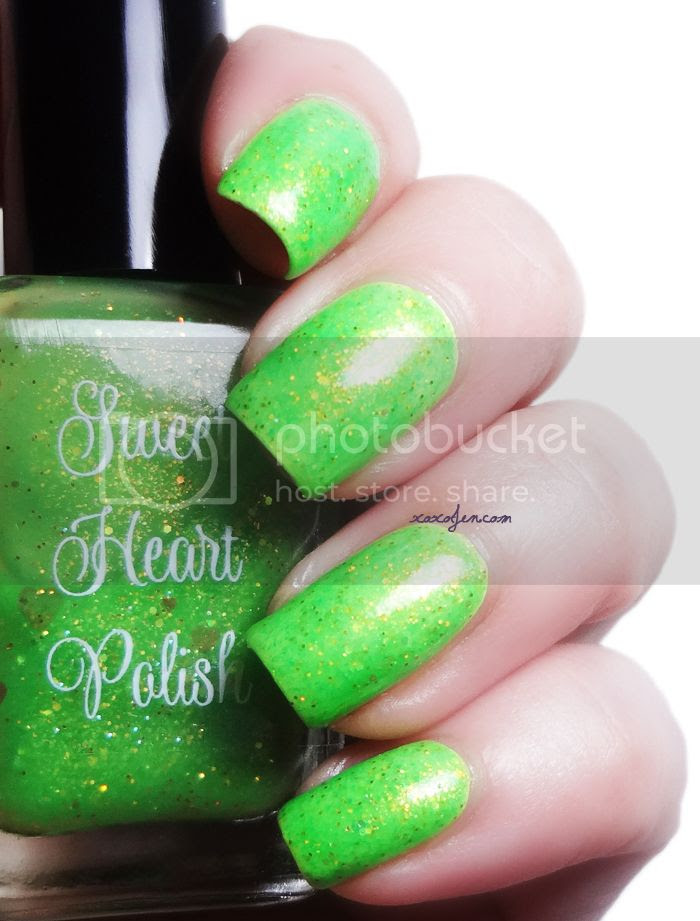 xoxoJen's swatch of Sweet Heart Polish Oh Look, A Firefly!