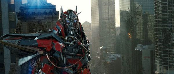Sentinel Prime prepares to bring Cybertron to Earth in TRANSFORMERS: DARK OF THE MOON.