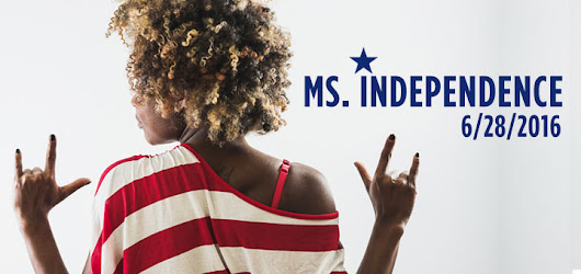 Margit's Note: Ms. Independence