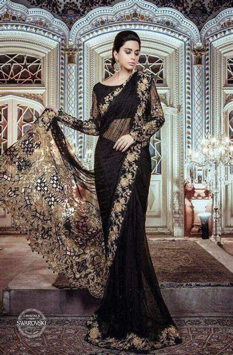 Maria B Chiffon Saree 2018   Pakistani Dresses Marketplace